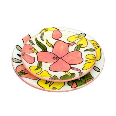 Assiette Flower